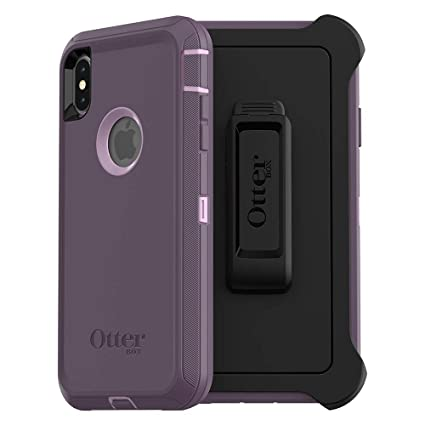 separation shoes 556a4 1ffee OtterBox DEFENDER SERIES SCREENLESS EDITION Case for iPhone Xs Max - Retail  Packaging - PURPLE NEBULA (WINSOME ORCHID/NIGHT PURPLE)