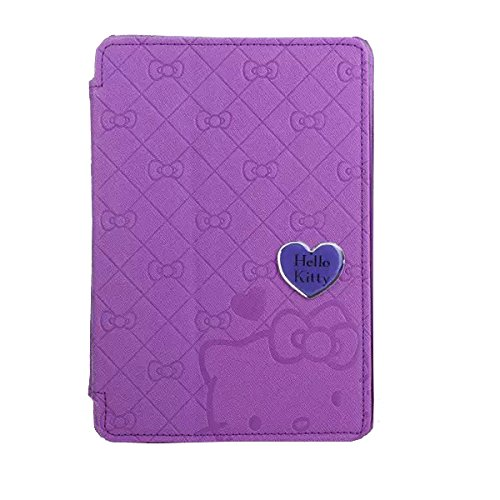 Hello Kitty themed ultra thin cover case Pure color grid for iPad mini1/2/3 + 1 piece of free screen protector