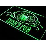 Enseigne Lumineuse s012-g Irish's Pub Bar Club Neon Light Sign
