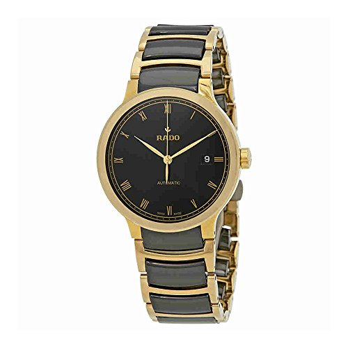 Rado-Centrix-Black-Dial-Ceramic-and-Steel-Ladies-Watch-R30079152