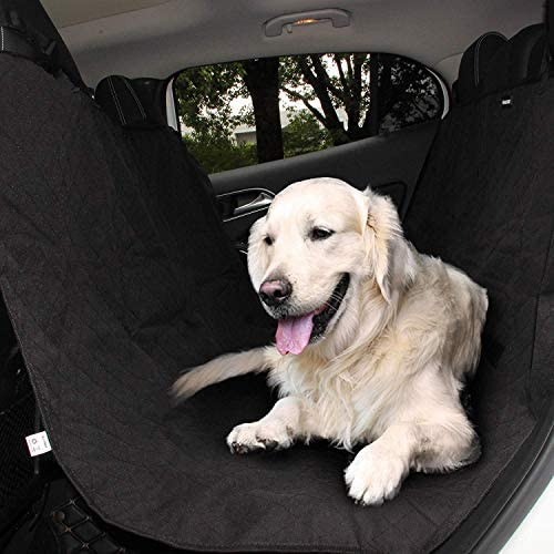 CONVELIFE 3 Layer Car Mesh Organizer,Seat Back Net Bag,Barrier of Backseat Pet Kids,Cargo Tissue Purse Holder,Driver Storage Netting Pouch