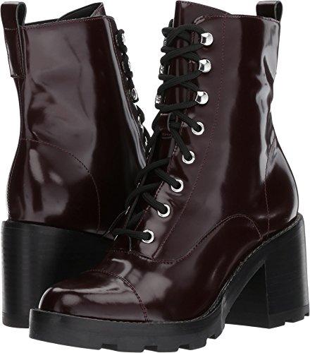 n's Wanya Dark Black Cherry Leather 10 M US (Black Cherry Leather)