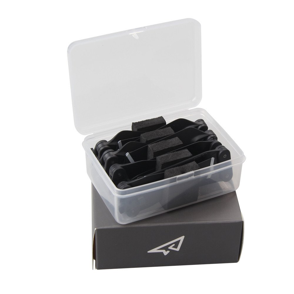 4730F Propeller Portable Clear Storage Box Protective Case for DJI Spark (Clear)