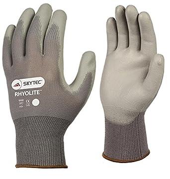 Skytec Gloves SKY30-S Rhyolite-PU Glove, Size: S, Grey