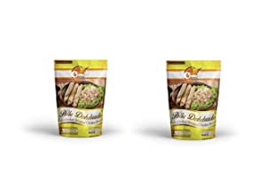 Comal Traditional Foods |Tasty and Flavorful Chicken, beef and pork | Ready-to-eat | Gluten Free | Keto friendly| Mexican food (Shredded Chicken, Pack of 2)