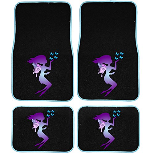 purple car floor mats - 8