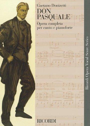DON PASQUALE VOCAL SCORE (Vocal Score Italian)