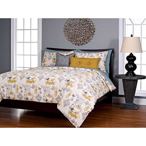 SIS Covers 6-Piece Meritage Duvet Set, California King