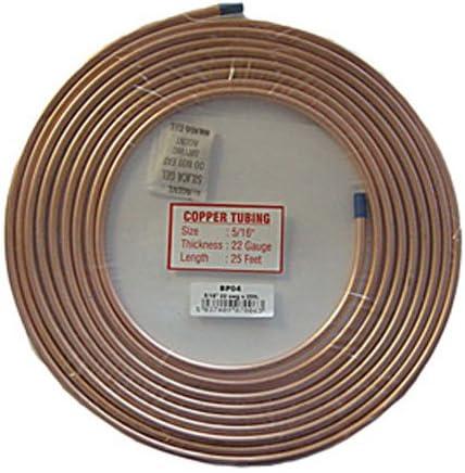 25 ft Techniks BP03 teckniks cuivre pour tuyau de frein 7,60m 1//4