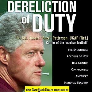 Dereliction of Duty Audiobook