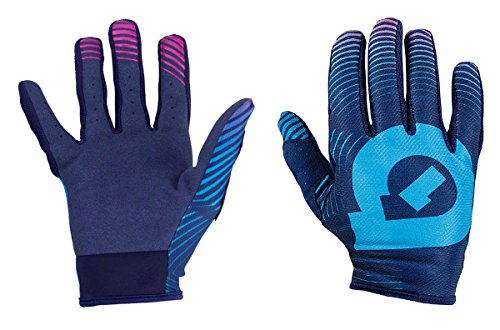 661 SixSixOne Comp Vortex Full Finger Gloves - NAVY/BLUE - Extra Small (XS) (7) (CLOSEOUT) _7111-45-007