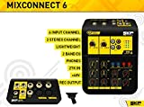 SKP Pro Audio MIX CONNECT 6 Portable Mixing Console with 6 Input Channels