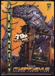 Godzilla SuperVue 5 Premium Trading Cards By InkWorks 5 Random Cards Sealed 1998