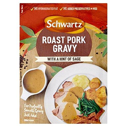Schwartz cerdo y salsa de Sage 25g Sachet