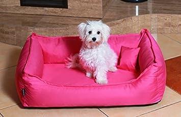 Cama de perro DONALD ORTO Vital Anti-pelo 60cm S rosa Revestimiento de teflón con Colchón de confort: Amazon.es: Productos para mascotas