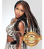 Sensationnel X-Pression #1B-Off Balck Super X Braid 100% Kanekalon Braiding Hair-Senegal