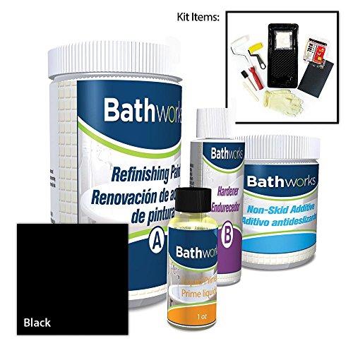 BATHWORKS 22 oz. DIY Bathtub Refinishing Kit with Slip Guard in ()
