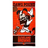 WinCraft Cleveland Browns Mickey Mouse Disney Beach Towel