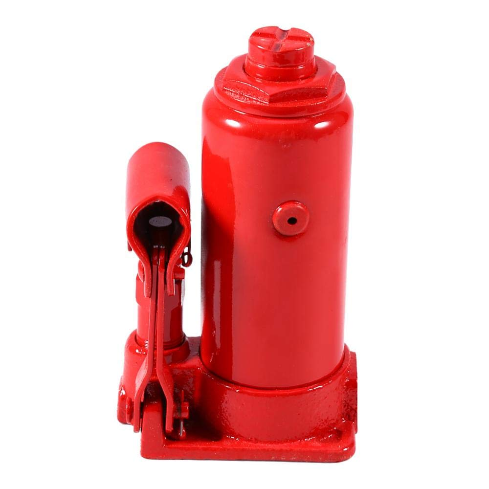 Sollevatore Idraulico a Bottiglia 5T Cric Idraulici Professionale Cricco Auto Idraulico Martinetto Idraulico Jack per Carrozzeria Veicoli Piccoli Camion Auto Riparazione di Pneumatici Sollevamento