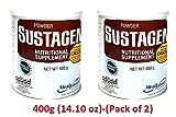 Sustagen Nutritional Supplement Milk powder (Chocolate, 400g (14.10 oz)-(Pack of 2))