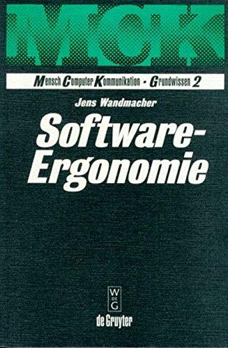 Software-Ergonomie (Mensch, Computer, Kommunikation - Grundwissen)