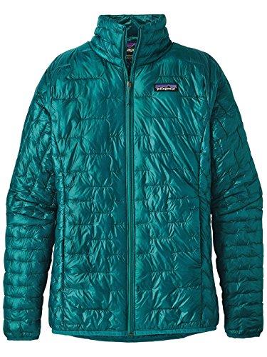 Patagonia Women's Micro Puff Jacket Elwha Blue Size M -