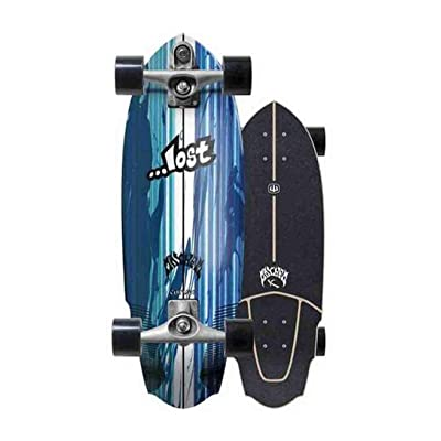 "Carver Skateboards x Lost V3 Rocket Surfskate Complete C7 30"" : Sports & Outdoors"