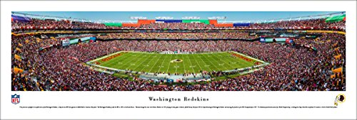 (Washington Redskins - 50 Yard - Day - Blakeway Panoramas Unframed NFL Posters)