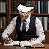 AZFUNN 1X to 6X Headband Magnifier, Headset