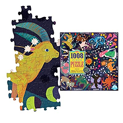 eeBoo Zodiac Glow in The Dark Jigsaw Puzzle for Adults, 1000 Pieces: Toys & Games