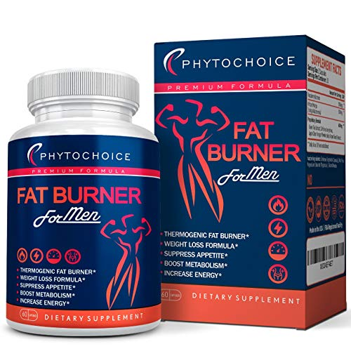 Best Diet Pills That Work Fast for Men-Natural Weight Loss Supplements-Thermogenic Fat Burning Pills for Men-Appetite Suppressant Carbohydrate Blocker Metabolism Booster-Belly Fat Burner for Men