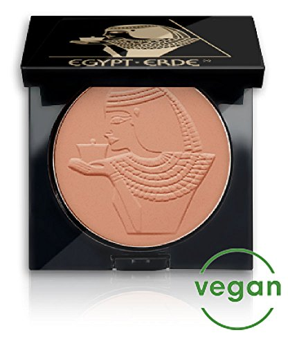 Cutifem Egypt-Erde Compact Puder No. 2 Brown Terracotta Pearl - Pflegendes, Veganes Make-Up Gesichtspuder - 11 g