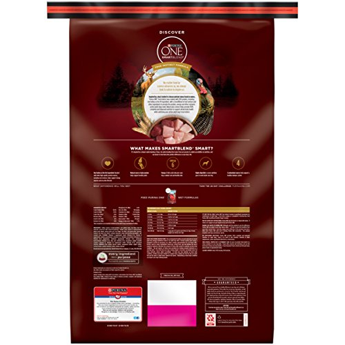 Purina ONE SmartBlend True Instinct with a Blend of Real Turkey & Venison NATURAL Adult Dry Dog Food - (1) 27.5 lb. Bag