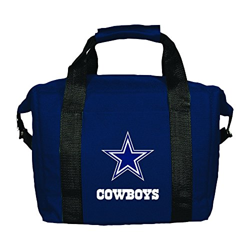 Nfl Cooler (NFL Dallas Cowboys Blue Soft Sided 12-Pack Cooler Bag)