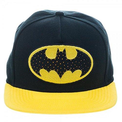 DC Comics Batman Snapback Hat with Illuminating Logo