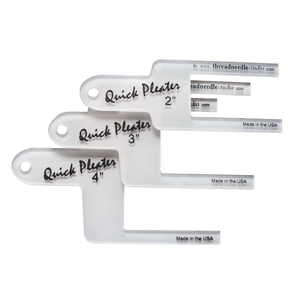 Quick Pleater - Large Set of 3 - Includes 2'', 3'', and 4'' Pleater