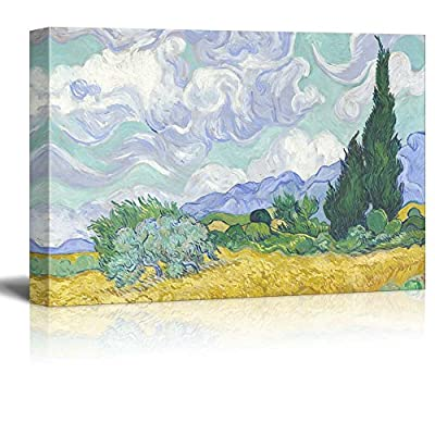 Wheat Field with Cypresses by Vincent Van Gogh...24