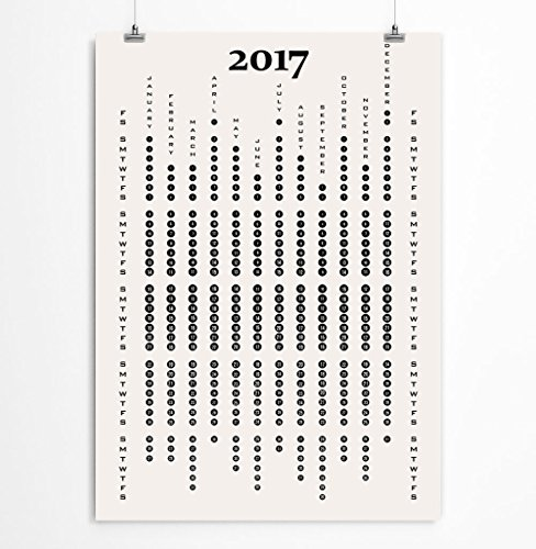 minimalist-wall-calendar-for-2017-black-and-white-office-stationery-paper-goods-8x10-11x14-12x16-13x