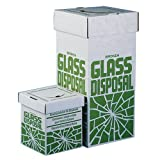 Bel-Art Cardboard Disposal Cartons for Glass; 12 x 12 x 27 in, Floor Model (Pack of 6) (F24653-0001)