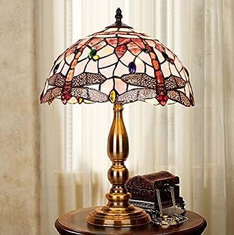 Beleuchtung Schlafzimmer Beerenstrauch Lampe European Retro Dekoration Haus  Kunst Lampe Tisch Trauung (Dragonfly Lamp)