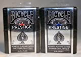 DuraFlex 100% Plastic Playing Cards by Bicycle - 2 Decks 2-Pack