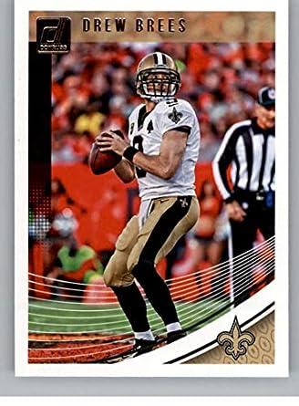ed87d4a37dd 2018 Donruss Football  193 Drew Brees New Orleans Saints Official NFL  Trading Card