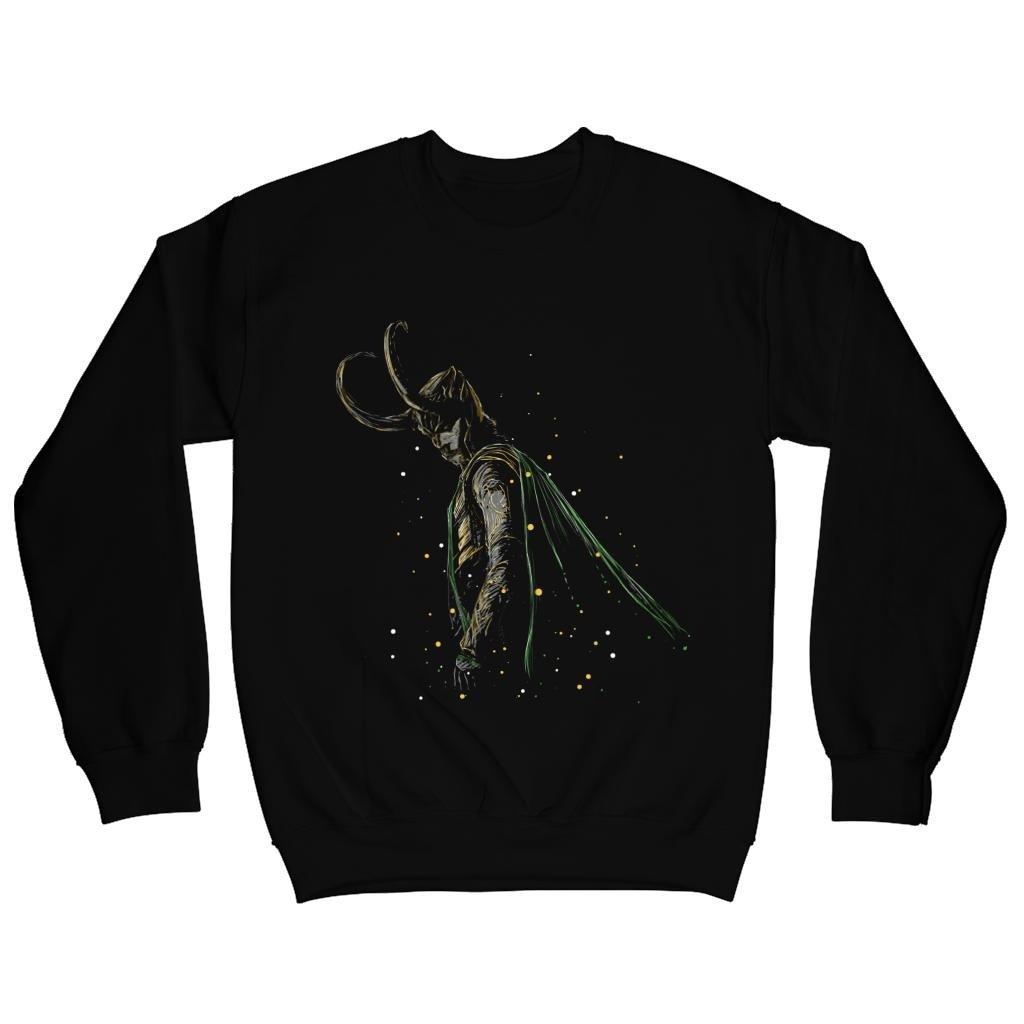 TeeTrumpet Thor Ragnarok Loki Master of Illusions Mens Sweatshirt