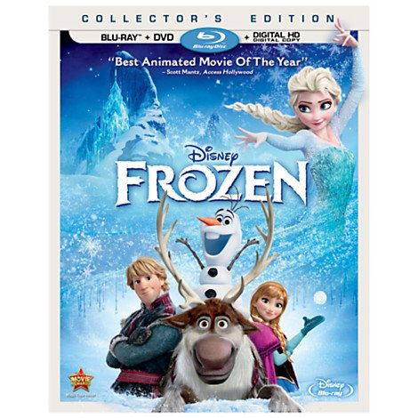 Disney Frozen {DVD + BLU-RAY} Collectors Edition