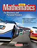 Mathematics for Business and Personal Finance Student Edition