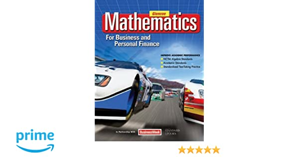 Mathematics for Business and Personal Finance Student Edition ...