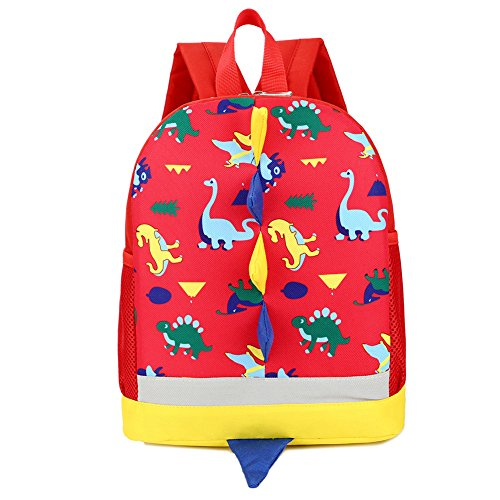 IMLECK Kid Toddler Backpack Dragon Dinosaur Backpack 3-6years (Best Lunch Box For 3 Year Old)