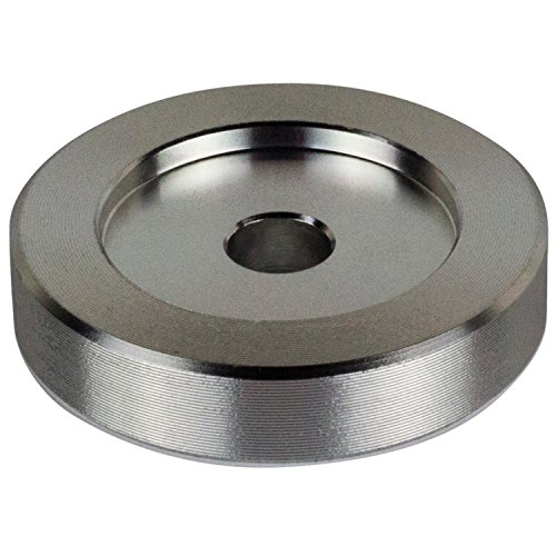 45 RPM Adapter - Aluminum - 7 inch Vinyl Record Dome 45 Adapter 45 Rpm Record Adapter
