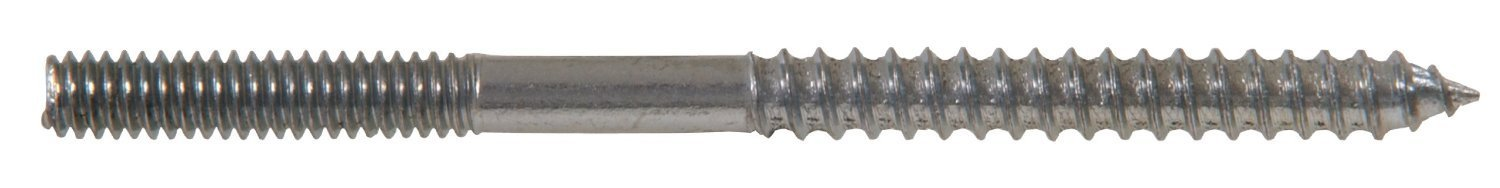 The Hillman Group 230304 Hanger Bolt, 3/16-Inch X 2-Inch (2 Packs of 100)