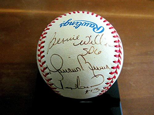 Mariano Rivera Hof Bernie Williams Tino Martinez Yankee Signed Auto Baseball - JSA Certified - Autographed -
